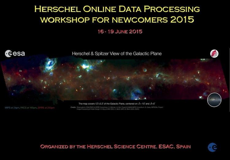 Herschel Data Processing for Newcomers, 16-19 June 2015