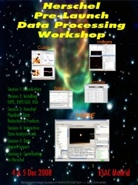 Herschel Pre-Launch Data Processing Workshop poster - Click to download the poster (PDF)