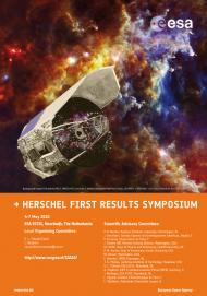 Herschel First Results Symposium Poster