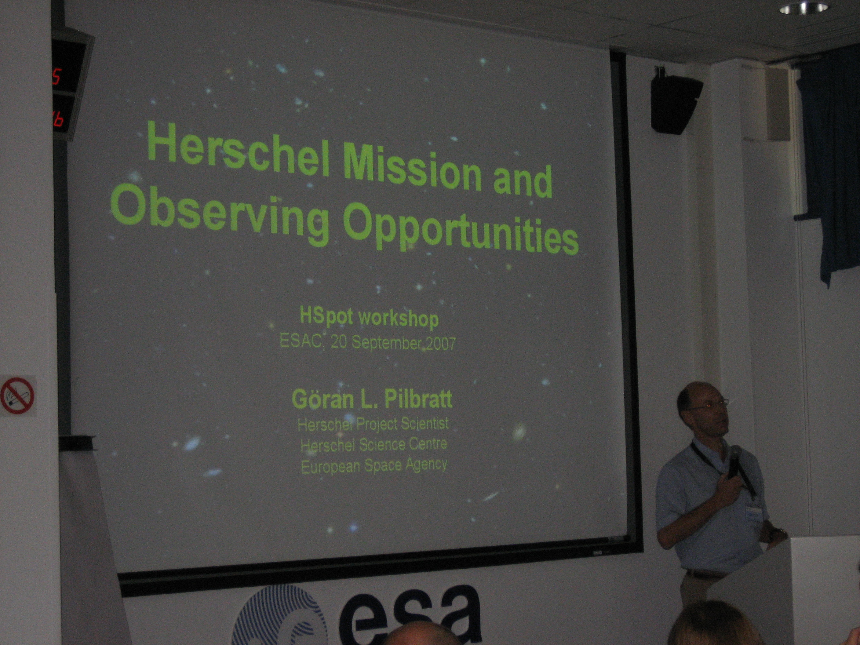 Herschel Mission and Observing Opportunities presentation (G. Pilbratt)