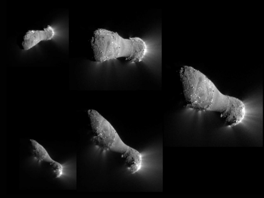 Comet Hartley-2 as seen by EPOXI. Credit NASA/JPL-Caltech/UMD