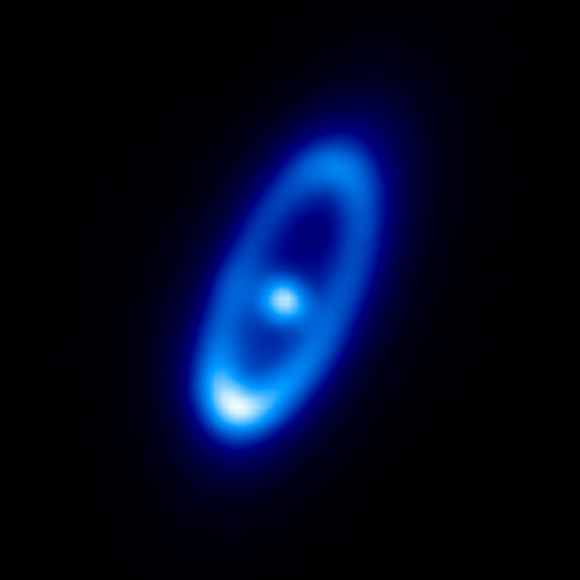 Herschel PACS 70 μm image of Fomalhaut