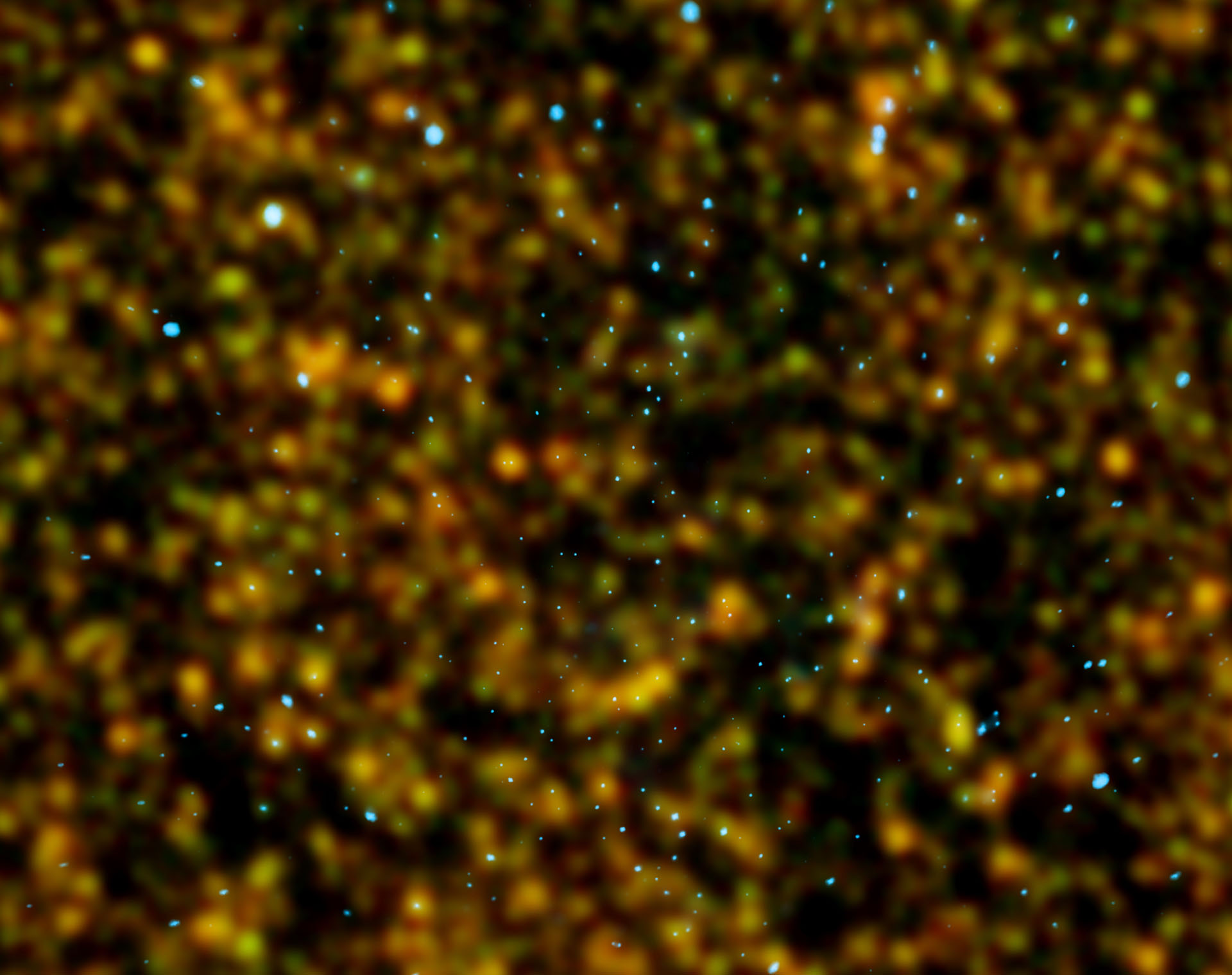 Chandra Deep Field North. Copyright: ESA/Herschel/HerMES ; NASA/CXS