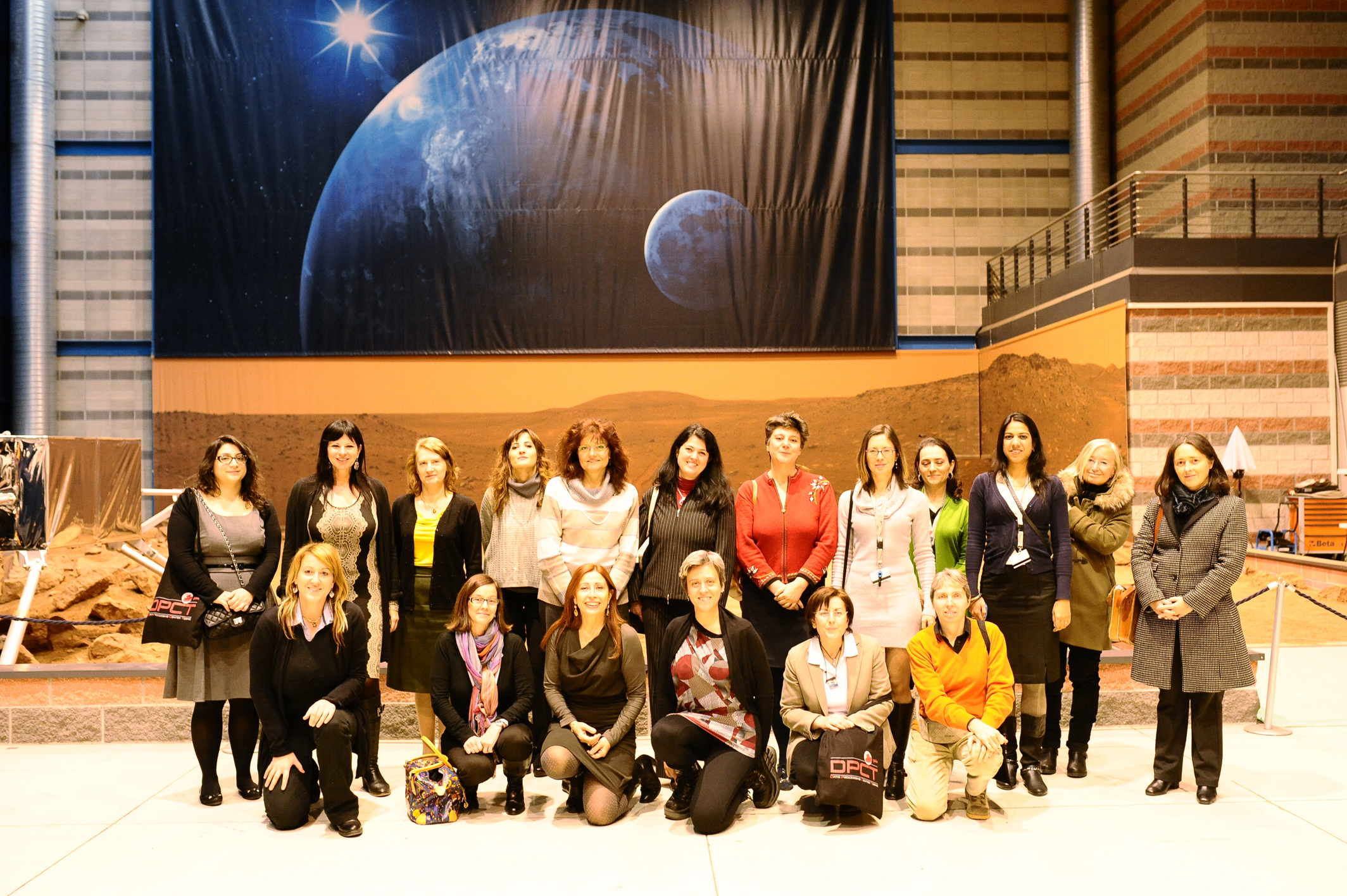 Gaia women at the launch event in Turin
