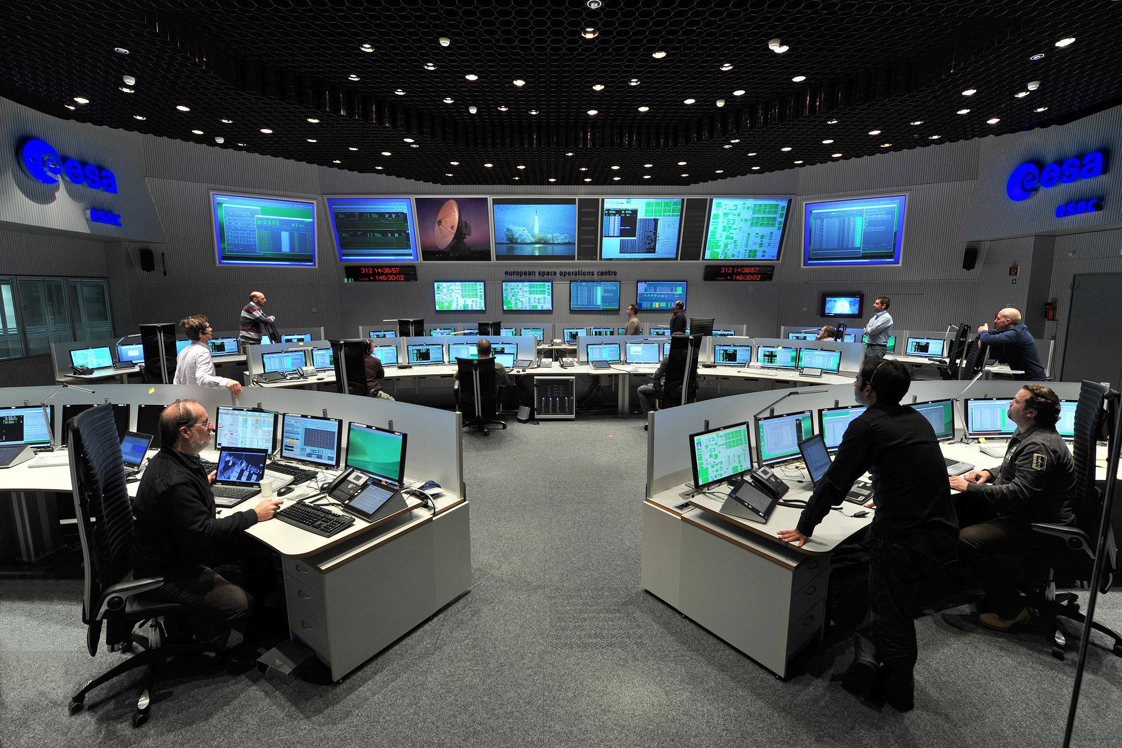 Mission Operations (ESOC) - Gaia - Cosmos