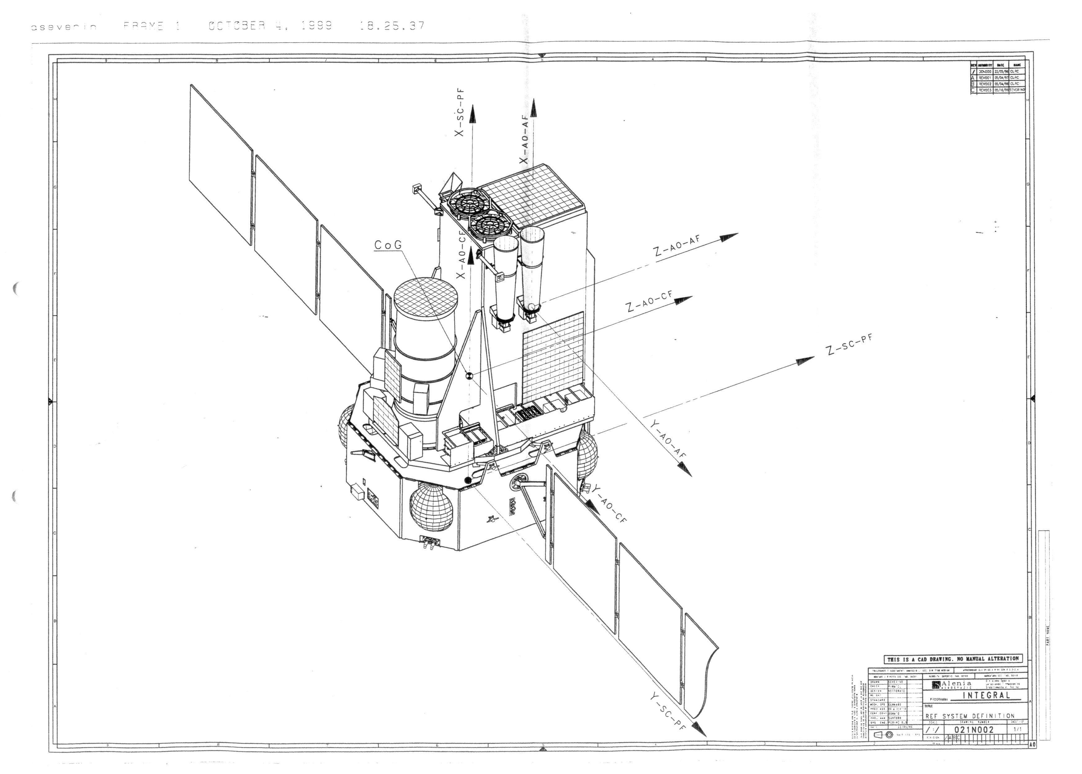 Technical Drawings - Cosmos