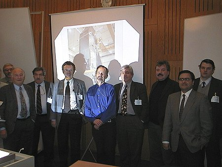 The ISWT during the 20th meeting (16-17 January 2001, ESTEC).