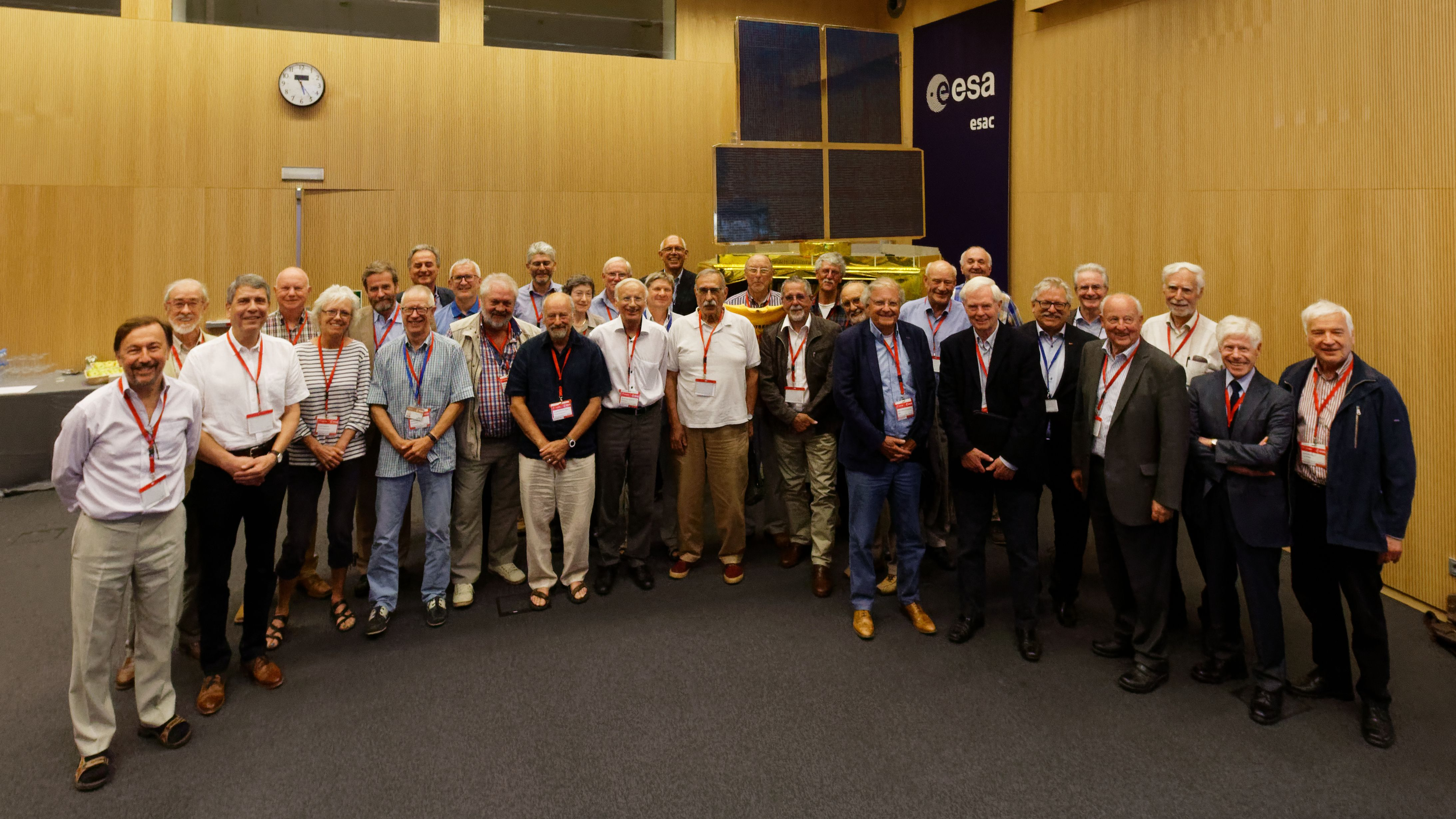 EXOSAT 35-Years reunion photo