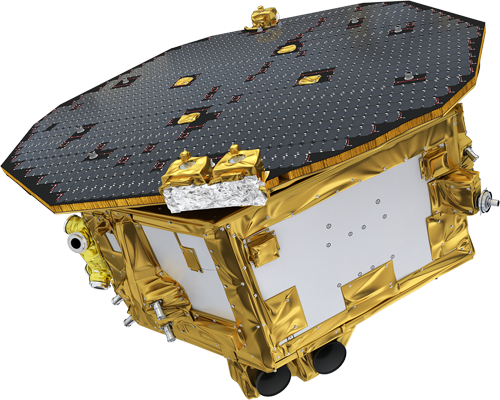 The LISA Pathfinder spacecraft